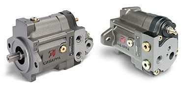 Pompe a pistoni assiali a cilindrata variabile - Plata